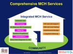comprehensive mch services