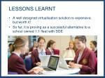 lessons learnt1