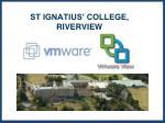 st ignatius college riverview