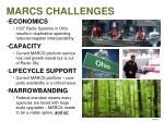 marcs challenges