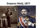 emperor meiji 1877