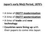 japan s early meiji period 1870 s1