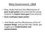 meiji government 1868