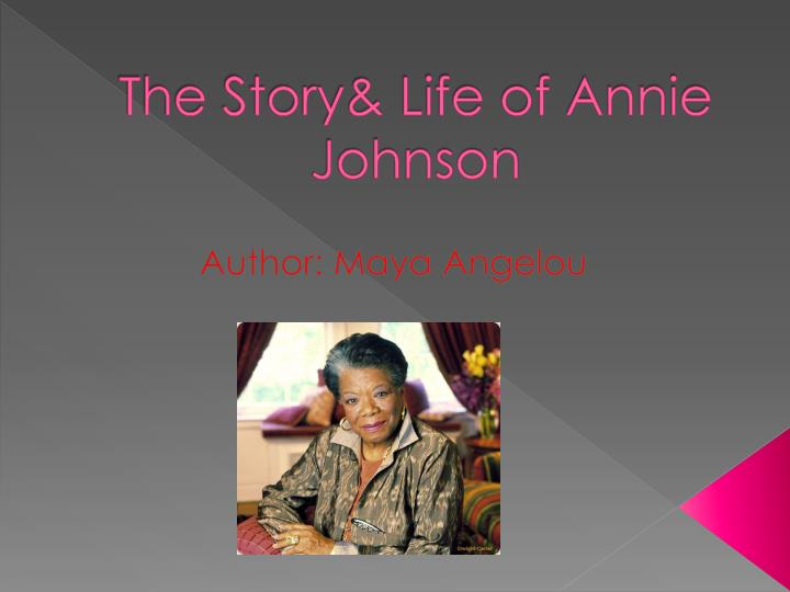 the story life of annie johnson n.