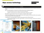rope access technology