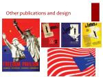 other publications and design1
