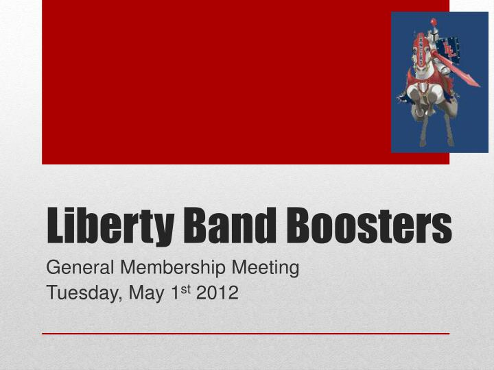 liberty band boosters n.