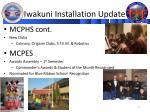 iwakuni installation update2