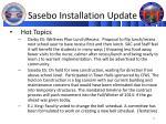 sasebo installation update1