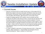 sasebo installation update2
