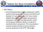 yokota air base installation2