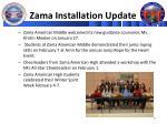 zama installation update2