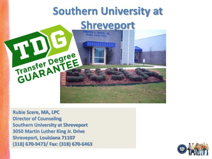 southern university at shreveport n.