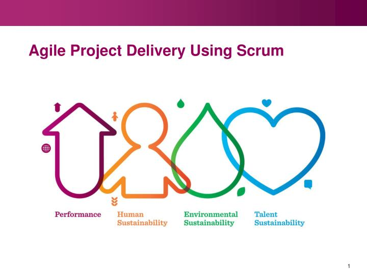 agile project delivery using scrum n.