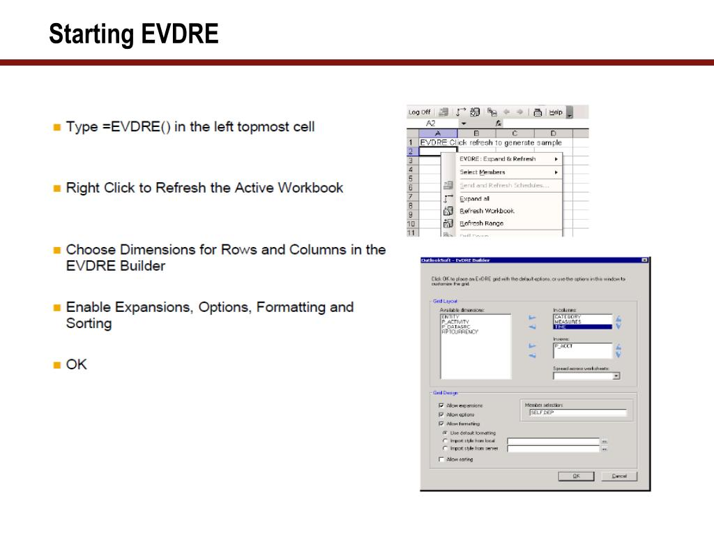 PPT - An Overview of SAP BPC 10 0 Reporting Features and