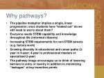 why pathways