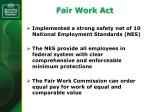 fair work act
