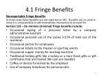 4 1 fringe benefits7