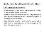 4 6 section 125 flexible benefit plans3