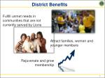 district benefits