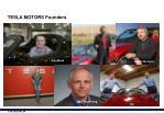 tesla motors founders