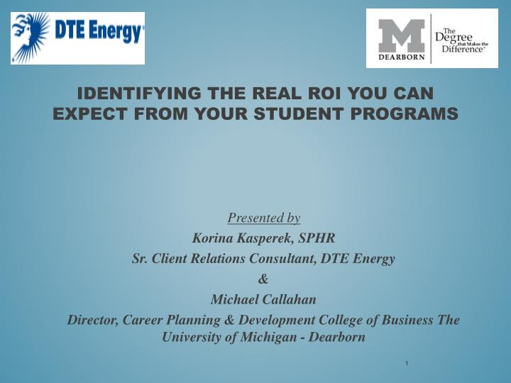 identifying the real roi you can expect from your student programs n.