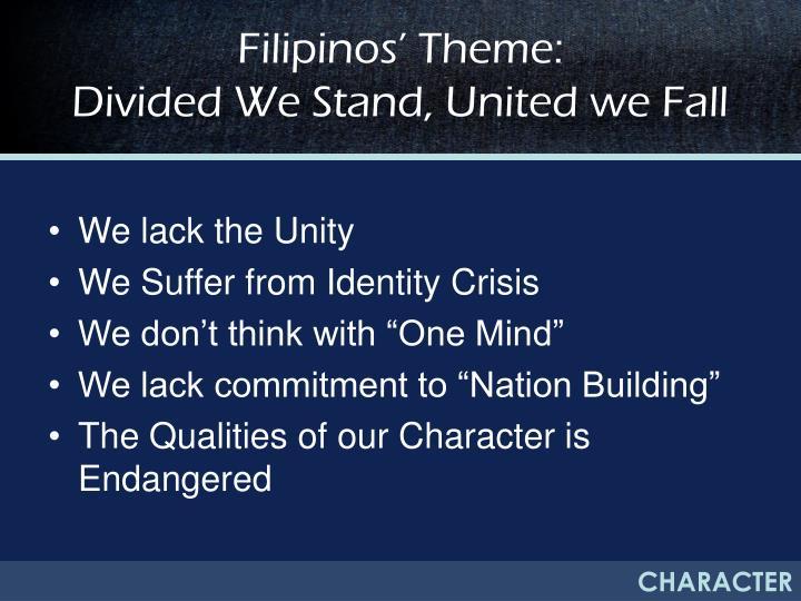 Filipinos' Theme:
