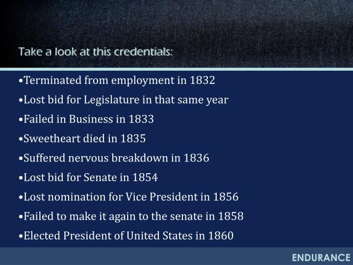 Take a look at this credentials:
