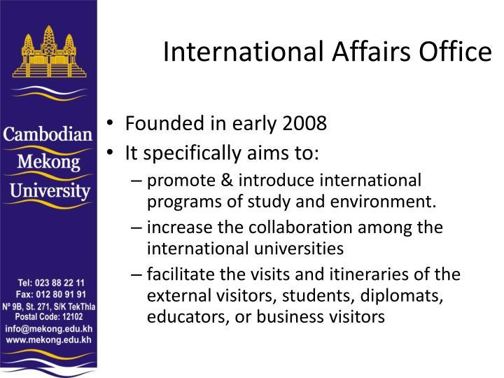 International Affairs Office