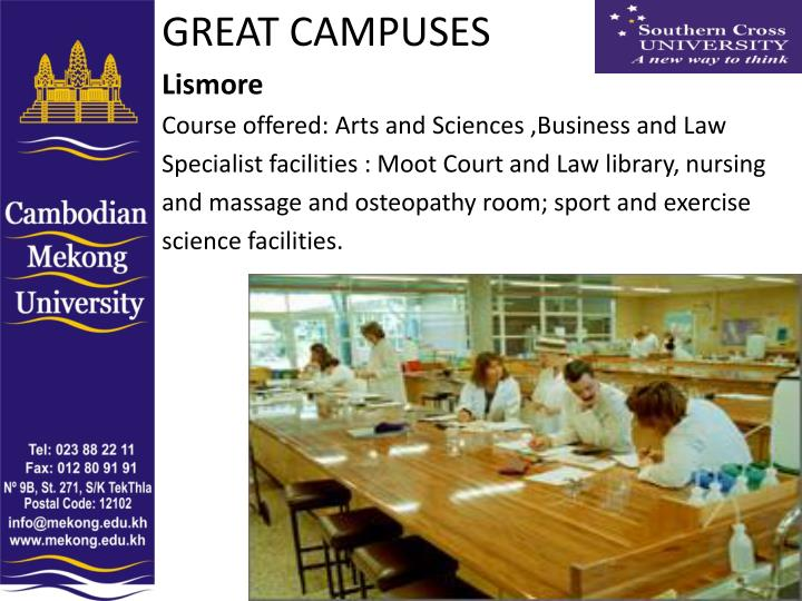 GREAT CAMPUSES
