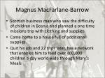 magnus macfarlane barrow