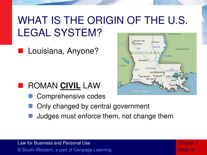what is law western legal system