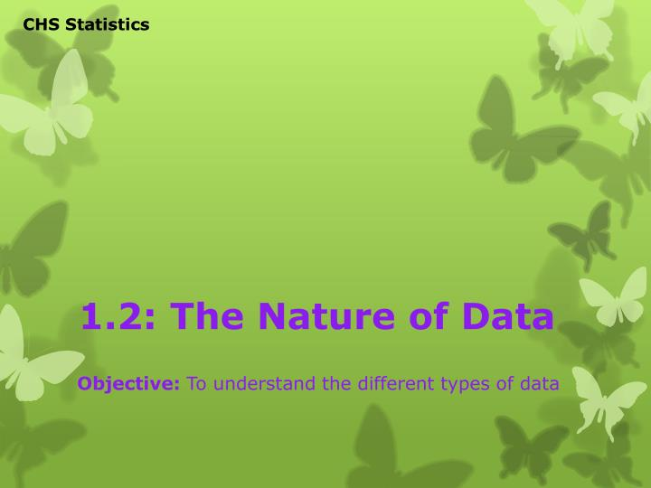 1 2 the nature of data n.