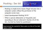 hacking sec 66