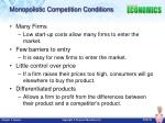 monopolistic competition conditions