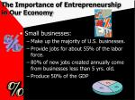 the importance of entrepreneurship in our economy