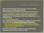 landowners