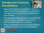 grandparents caring for grandchildren