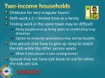 two income households