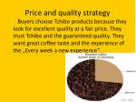 price and quality strategy