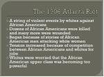 the 1906 atlanta riot