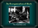 the reorganization of work1