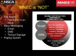 mnec is not