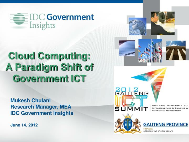 cloud computing a paradigm shift of government ict n.