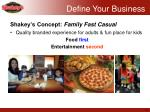 shakey s concept family fast casual