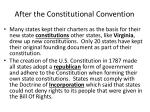 after the constitutional convention