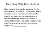 amending state constitutions