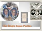 the single issue parties