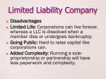 limited liability company2