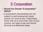 s corporation2